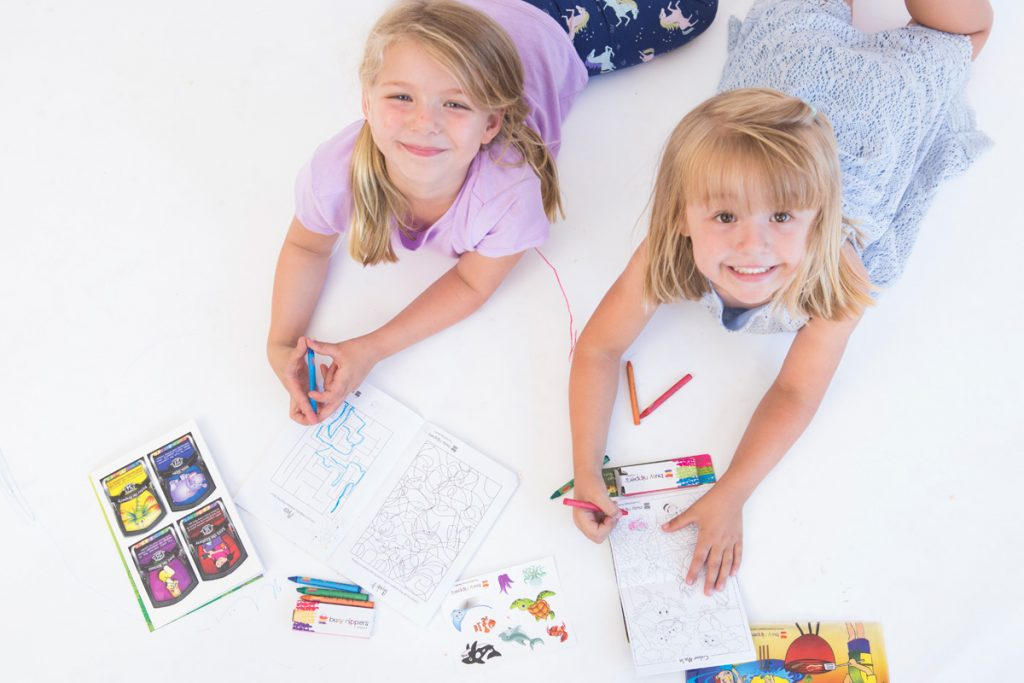 kid activities books